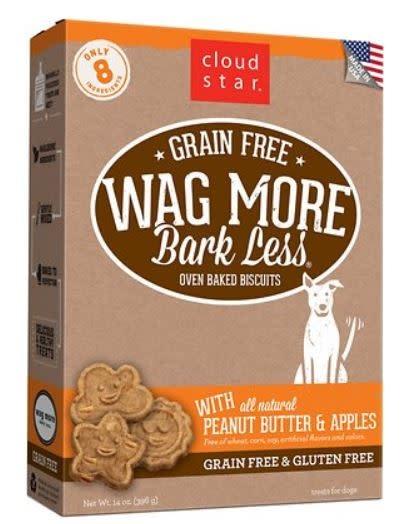 Cloud Star Wag More Peanut Butter 16 oz