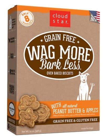 Cloud Star Wag More Peanut Butter & Apples 16 oz