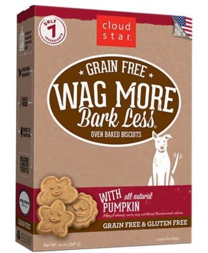 Cloud Star Wag More Grain-Free Pumpkin 14 oz