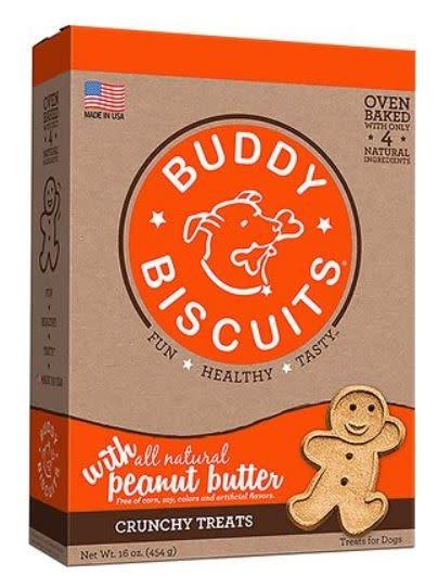 Cloud Star Buddy Biscuit Peanut Butter 16 oz