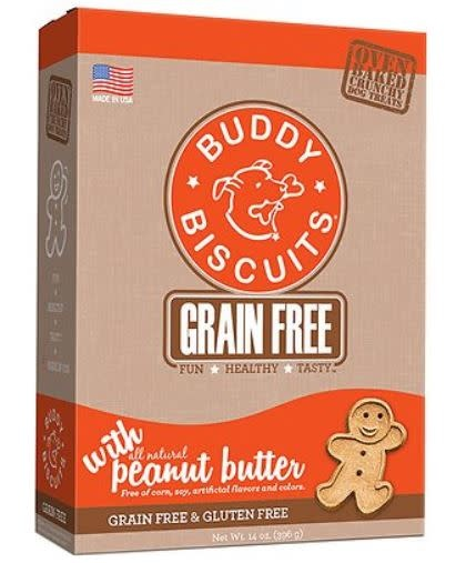 Cloud Star Buddy Biscuit GF Peanut Butter 14 oz