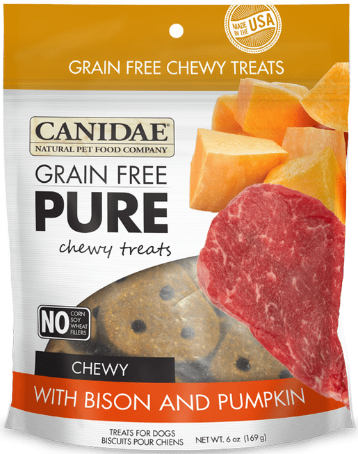 Canidae (Diamond) Canidae Pure GF Bison/Pumpkin 6oz