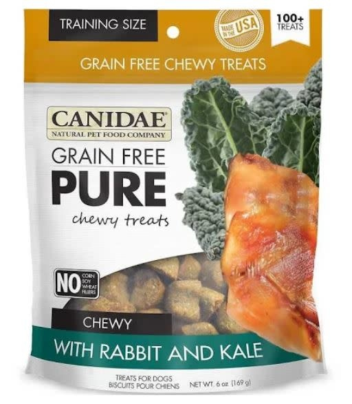 Canidae (Diamond) Canidae Pure Chewy GF Rabbit, Kale 6oz