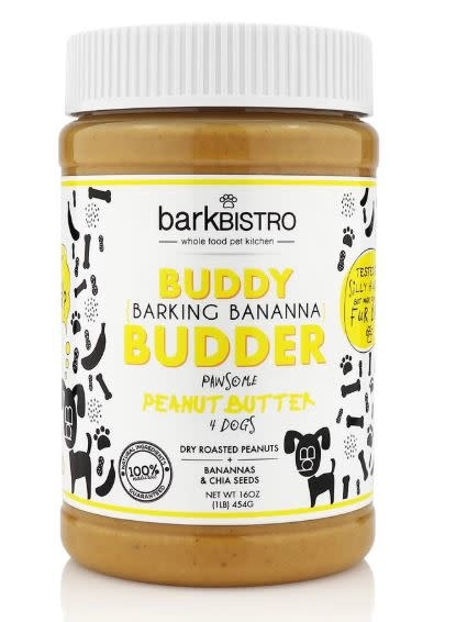Bark Bistro Buddy Butter Barking Banana 16 oz