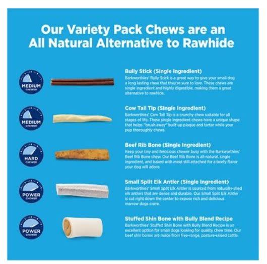 Barkworthie's Barkworthies Variety Pack SM