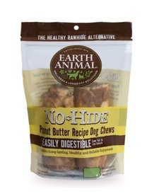 "Earth Animal No Hide Peanut Butter 4"" 2 pk"