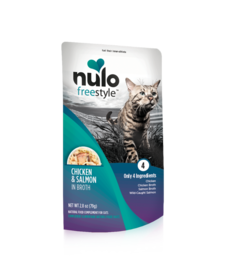 Nulo Freestyle Cat Chicken & Salmon 2.8 oz