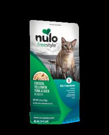 Nulo Freestyle Cat  Chicken, Yellowfin Tuna & Duck 2.8 oz