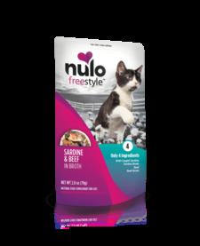 Nulo Freestyle Cat Sardine & Beef 2.8 oz