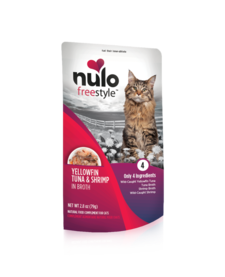 Nulo Freestyle Cat Yellowfin Tuna & Shrimp 2.8 oz