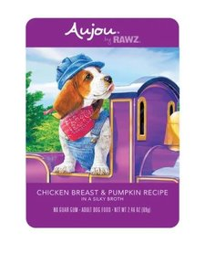 Aujou Dog Chicken Breast & Pumpkin 2.46 Case