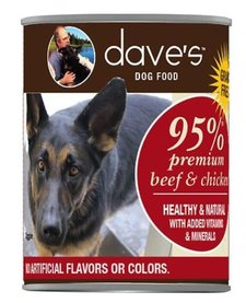 Dave's Dog 95% Beef & Chicken 13 oz
