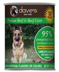Dave's Dog 95% Beef 13 oz