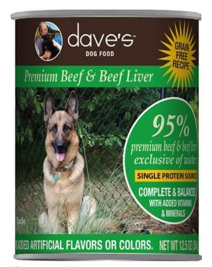 Dave's Dave's Dog 95% Beef 13 oz