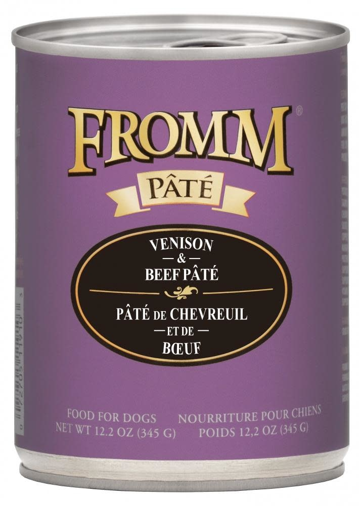Fromm Family Foods LLC Fromm Venison & Beef 12.2 oz