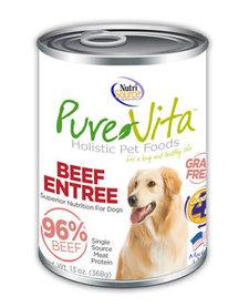 PureVita 96% Beef Entree 13 oz Case