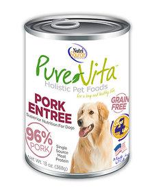 PureVita 96% Pork Entree 13 oz Case single