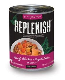 Replenish GF Beef, Chicken & Veggies 13.2 oz Case