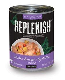 Replenish GF Chicken, Sausage & Veggies 13.2 oz Case