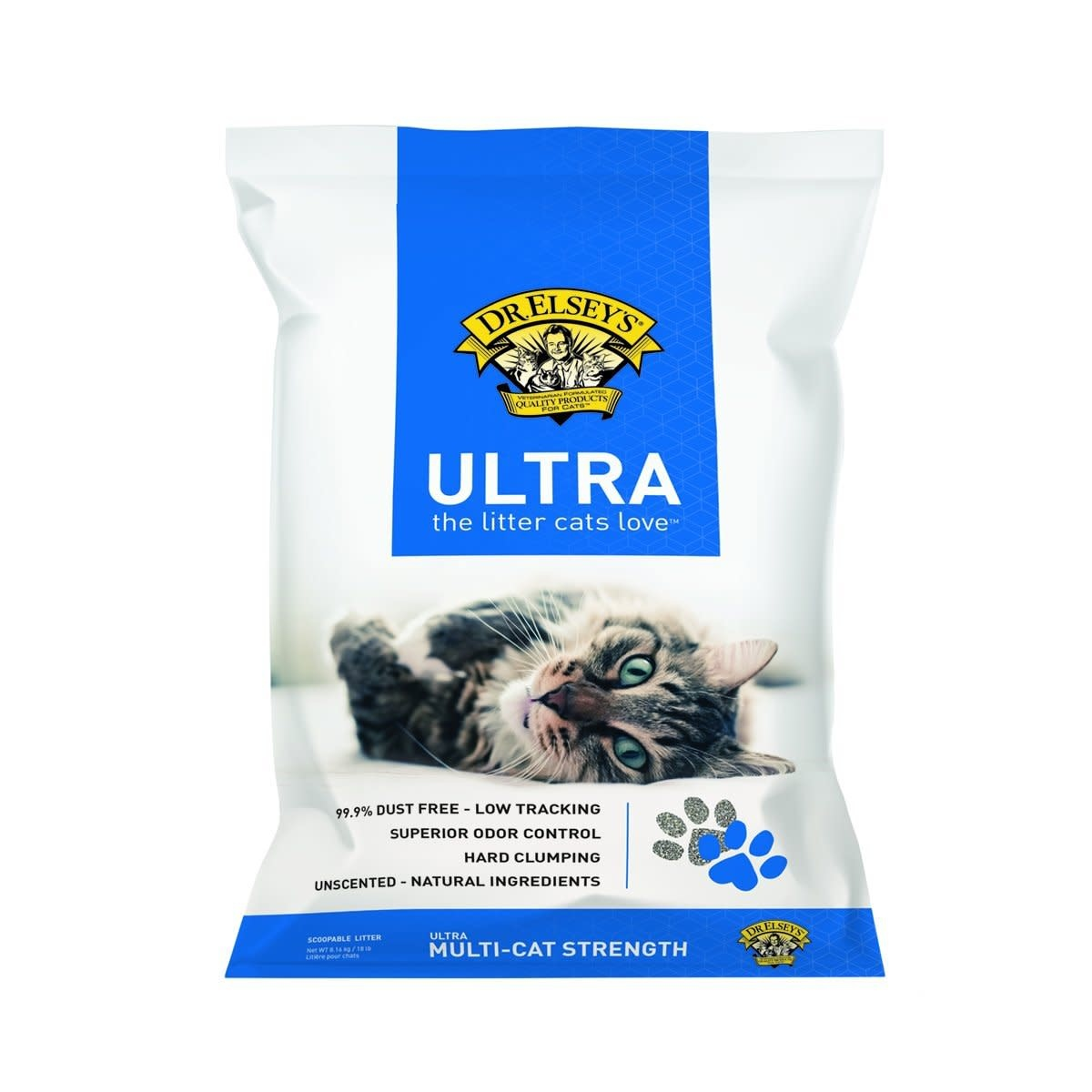 Dr. Elsey's Precious Cat Dr. Elsey's Precious Cat Ultra 18 lb Unsc