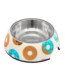 FuzzYard Go Nuts for Donuts Bowl 6.4 oz SM