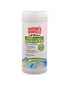 Nature Miracle Allergen House Wipes 25 ct