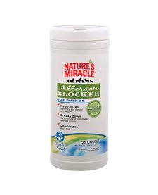 Natures Miracle Allergen Blocker Wipes 25 ct