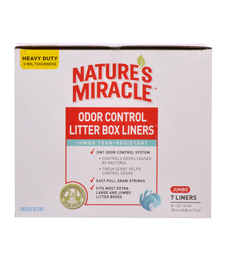 Natures Miracle Jumbo Pan Liner 7ct