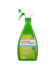 Nature's Miracle Green Leaf A/S Odor Elim 24oz