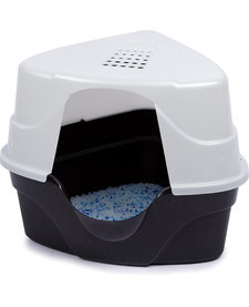 Nature's Miracle Hooded Corner LItter Box