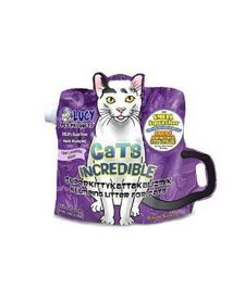 Lucy Litter Lavender Clumping 14 lb Bag
