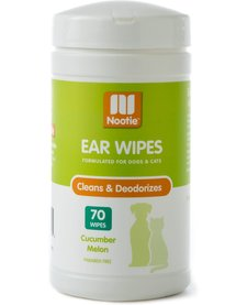 Nootie Cuc/Melon Ear Wipes 70 ct