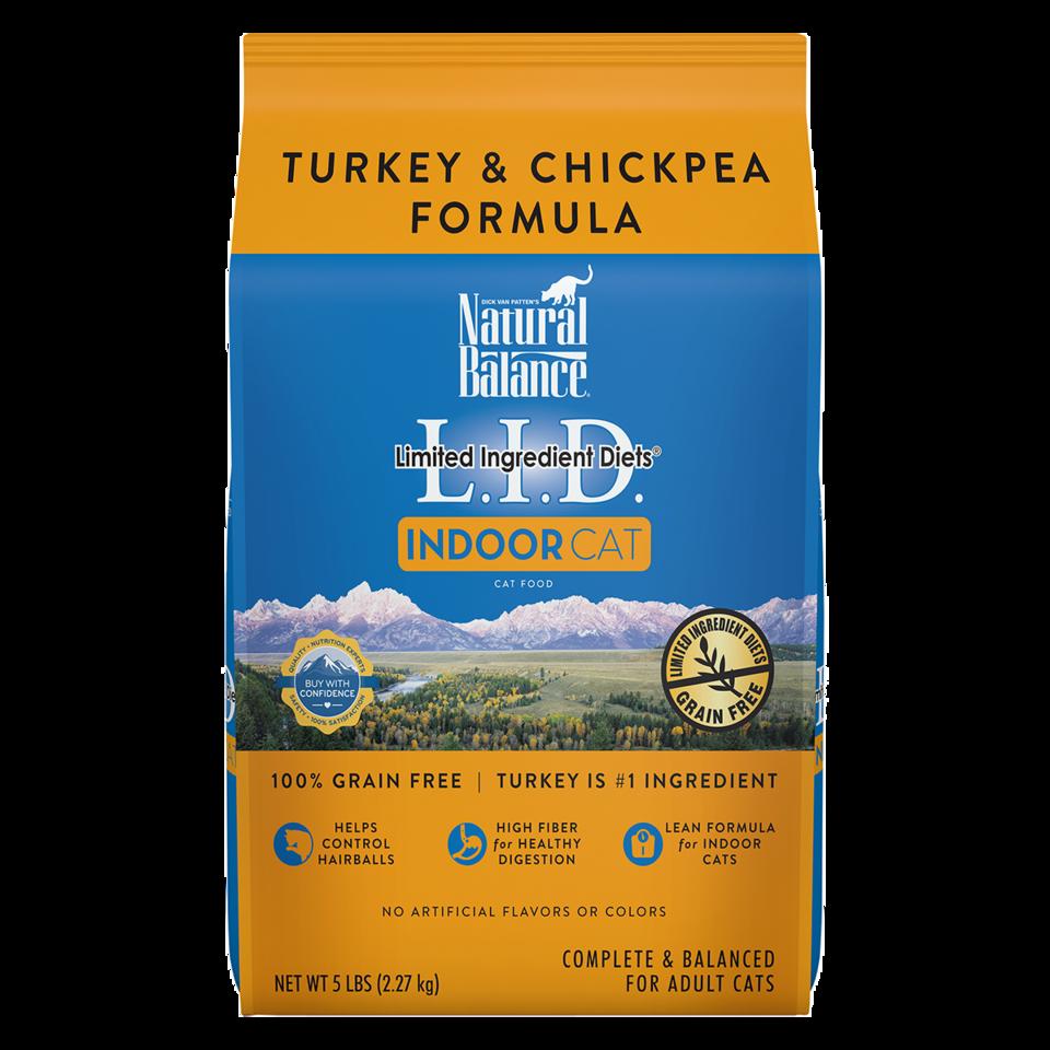 Natural Balance Natural Balance LID Indoor Cat Turk 10 lb