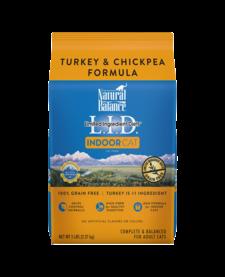 Natural Balance LID Indoor Cat Turkey 5 lb