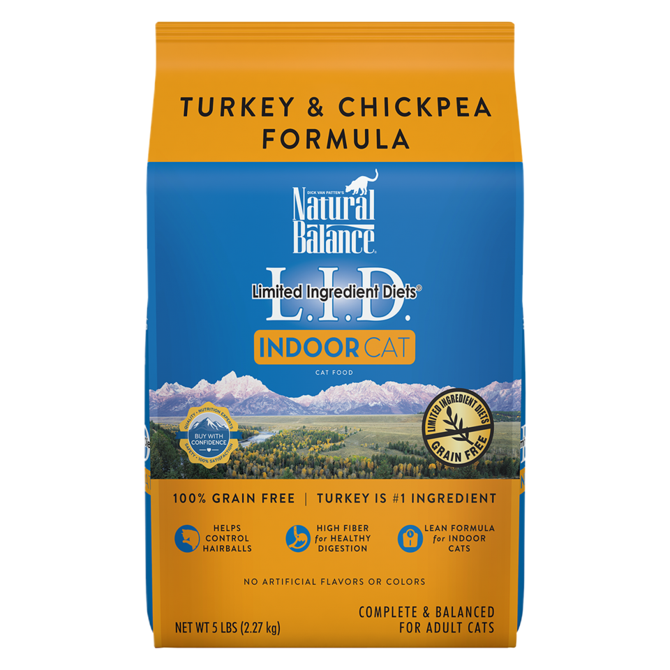 Natural Balance Natural Balance LID Indoor Cat Turkey 5 lb