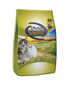 NutriSource Cat Senior/WM 16lbs