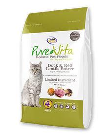 PureVita Cat Duck & Lentils 6.6 lb
