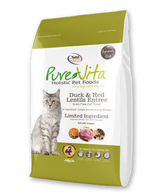 PureVita Cat GF Duck 15 lb