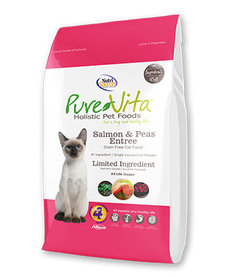 PureVita Cat GF Salmon 15lb