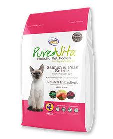 PureVita Cat Grain-Free Salmon 15lb