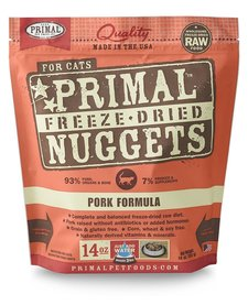 Primal Cat FD Pork 14 oz