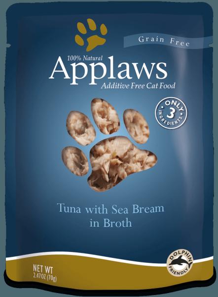 Applaws Applaws Grain-Free Tuna with Sea Bream 2.47 oz