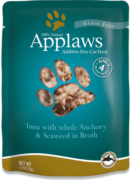 Applaws Applaws Tuna w/ Whole Anchovy 2.47 oz