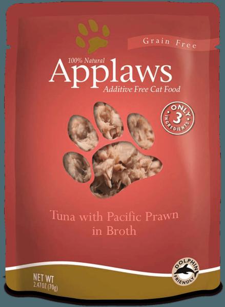 Applaws Applaws Tuna with  Pacific Prawn 2.47 oz