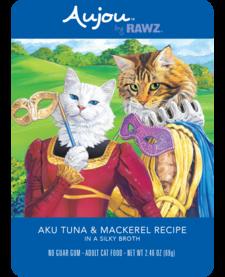 Aujou Cat Aku Tuna & Mackerel 2.46 oz Case