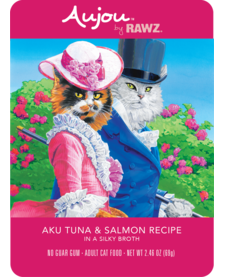 Aujou Cat Aku Tuna & Salmon 2.46 oz