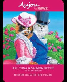 Aujou Cat Aku Tuna & Salmon 2.46 oz Case
