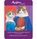 Aujou (Rawz) Aujou Cat Chicken Breast & Duck 2.46 oz