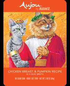 Aujou Cat Chicken Breast & Pumpkin 2.46 Case