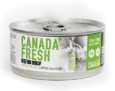 Petkind Pet Products Canada Fresh Cat Beef 5.5 oz